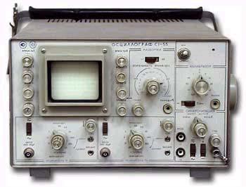 Осциллограф С1-137.  Другие позиции.  Для измерений параметров.