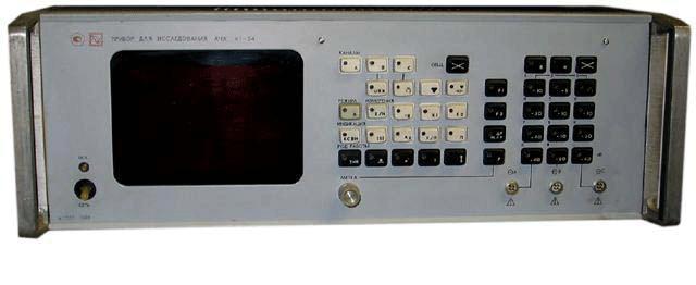 Полоса качания: 1,5 кГц - весь поддиапазон.  Пределы измерения относительной амплитуды АЧХ, не менее.