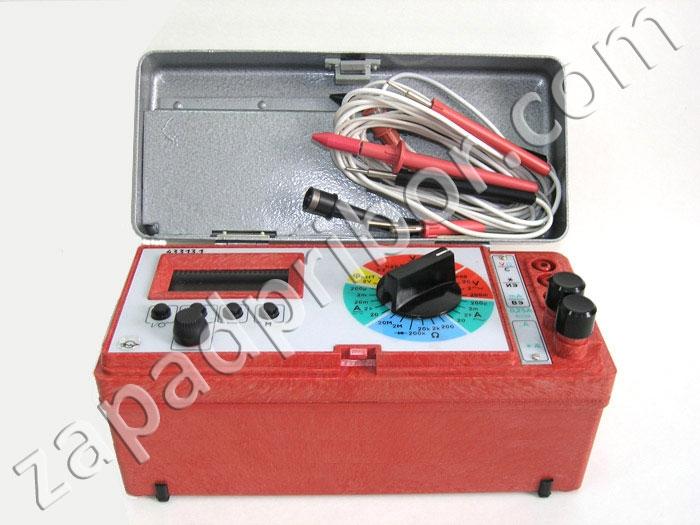 Ц4317М Прибор электроизмерительный многофункциональный.
