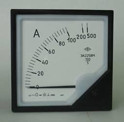 Амперметры ЭА2258М, предназначены для измерения силы переменного тока.